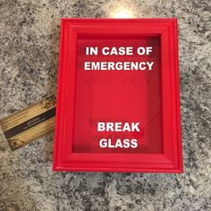 22 best in case of emergency break glass images on pinterest catherine baker added a photo of their purchase in case of emergency broken glass maxwellsz