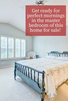 """You'll be pleased to know that this bedroom is not only cozy, it is also oversized. With an area of 17×13""""9, this master bedroom is a great fit for adding in a study or  nursery."""