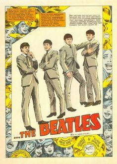 The Beatles comic book