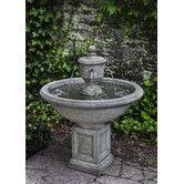 Found it at Wayfair - Rochefort Cast Stone Fountain