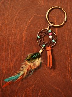 Gypsy Dreamcatcher Super Cute Small Feather by TurquoiseCrush, $10.50