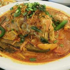 Kari Kepala Ikan (Fish Head Curry) @ allrecipes.asia
