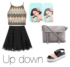 """""""Exid"""" by straastraa ❤ liked on Polyvore featuring Topshop, Alice + Olivia and Jeffrey Campbell"""