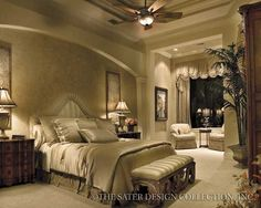 """Ravello - Italian House Plans - Home Plan Styles - Sater Design Collection Plans   MINE AND MOHAMED""""S BEDROOM"""