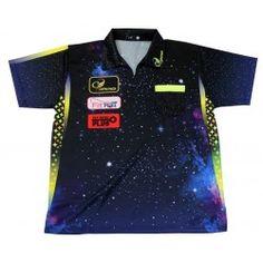 Target Phil Taylor Power Cool Play Darts Shirt 2018 Gary Anderson Darts, Dart Shirts, Play Darts, Dart Set, Star Designs, Stems, Cosmos, Dragons, Unicorn