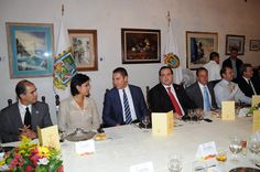 El gobernador Javier Duarte de Ochoa acude a comida con el Lic. Rafael Moreno Valle, Gobernador del Estado de Puebla en un reconocido restaurante de Coatepec, Veracruz.