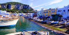 on one of my visits to the island paradise of Capri