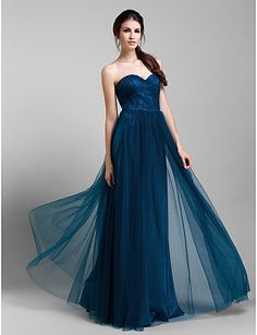 Lanting Mix&Match Convertible Dress Floor-length Tulle A-line Dress (1739560) 1739560 2016 – $79.99