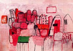 Daily Artist: Philip Guston (June 27, 1913 – June 7, 1980)