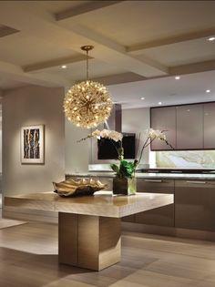 ♂ Luxury interior kitchen.
