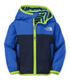 The North Face Infants' (0M-24M) Tops INFANT REVERSIBLE SCOUT WIND JACKET