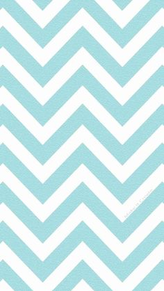 Soft Blue Chevron iPhone 6 Plus Wallpaper - Every Girl Will Like It, Zigzag
