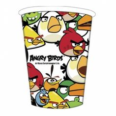 Serve your drinks in style with these 3 pack of Angry Birds cups, only £1.78!