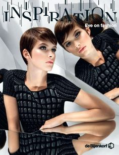 Scan this image with the ''Layar'' app and get new fashion inspiration from the Bijenkorf cover - Augmented Reality - Magazine