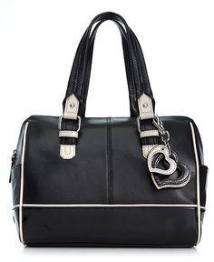 Calvin Klein Handbag, Leather Satchel