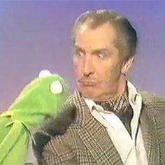 Kermit muerde a Vincent Price