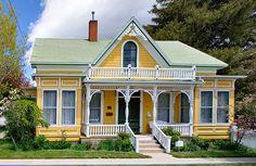 A small Victorian Style home in Carson City, Nevada