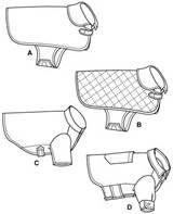 Free Dog Clothes Patterns: Dog vest harness patterns