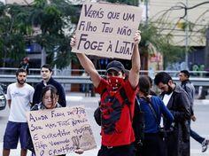 FRASES DE EFEITO - Manifestações #VemPraRua #OGiganteAcordou #ForaFeliciano #ForaFelicianus #ForaRenan  #NaoPec37 #ChangeBrazil #SemViolencia   spprotestoleopinheirofut5.jpg (619×464)