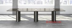 Spacial, modern board room table perfect for any meeting