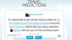 Pub KLM 2013 : Travel Predictions