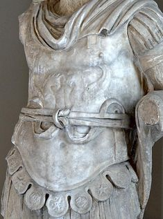 Nero. Detail. Marble. 54—68 CE. Inv. No. 506 T (Cat. Mendel 584). Istanbul, Archaeological Museum