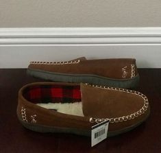 3efcf2cf3d3 POLO RALPH LAUREN SLIPPERS (MEN S 11) BRAND NEW   SUEDE   TAN BROWN   WITH  TAG  fashion  clothing  shoes  accessories  mensshoes  slippers (ebay link)