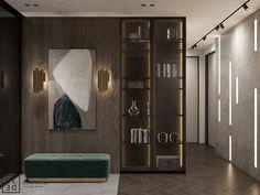 DEDE/Emerald apartment on Behance