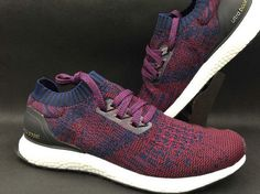 adidas Ultra Boost Uncaged Burgundy White Navy UK Trainers 2017/Running Shoes 2017