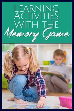 Remember the Memory Game? These are really fun and educational kids activities and games for you to play with your kids.