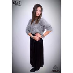 Fusta 3/4 cu pliuri High Neck Dress, Sweaters, Dresses, Fashion, Turtleneck Dress, Gowns, Moda, Fashion Styles, Sweater