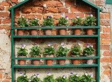 Como Fazer Horta ou Jardim Vertical 1