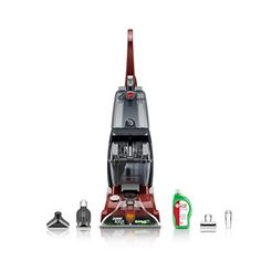 News Hoover Power Scrub Deluxe Carpet Cleaner, FH50150   buy now     $134.00 Help extend the life of your carpet with the Hoover Power Scrub Deluxe Carpet Cleaner. Designed to clean many carpeted and fa... http://showbizlikes.com/hoover-power-scrub-deluxe-carpet-cleaner-fh50150/