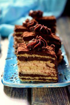 Maronia szelet Cake Cookies, Cupcakes, Poppy Cake, Muffins, Sugar Cake, No Bake Cake, Tiramisu, Food And Drink, Sweets