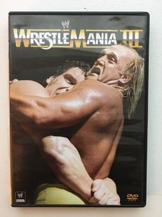 WWE - Wrestlemania III (DVD, 2013) Hulk Hogan vs Andre The Giant 1987