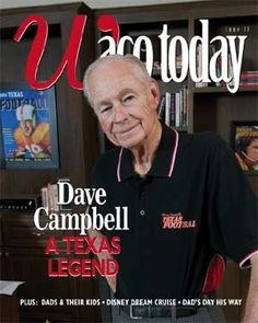 Dave Campbell: A Texas legend (and Baylor alum!)