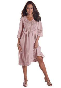 Roamans Women's Plus Size Angel Empire Waist Crochet Dress (Primrose,14 W) Roamans,http://www.amazon.com/dp/B00GSULQB8/ref=cm_sw_r_pi_dp_-Kkptb03ADKWQRKA