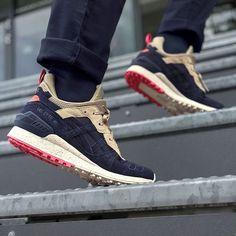 ASICS mash up some classics for the new MT mid-cut. #sneakerfreaker #snkrfkr #asics #gellyte
