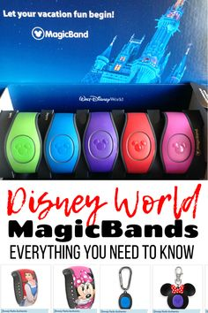 Disney Magic Band 101: Everything You Need To Know