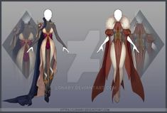 [Close] Design by Lonary on DeviantArt Character Outfits, Character Art, Character Design, Design Reference, Art Reference, Fashion Design Drawings, Fashion Sketches, Drawing Clothes, Anime Outfits