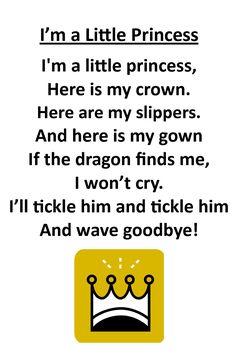 Itty Bitty Rhyme: I'm a Little Princess