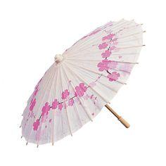 Cherry Blossom Parasol - OrientalTrading.com