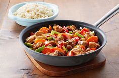 Honey-Sesame Chicken Stir-Fry recipe
