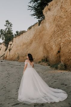Tulle overskirt — Wild + White Bridal White Bridal, One Shoulder Wedding Dress, Tulle, Satin, Wedding Dresses, Collection, Fashion, Bride Gowns, Wedding Gowns