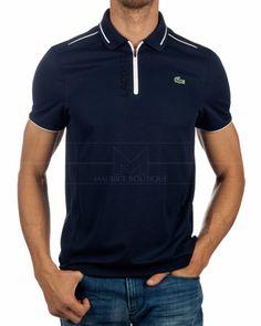 Polo LACOSTE ® Sport Azul Bicolor Tenis | ENVIO GRATIS Lacoste Polo Shirts, Lacoste Sport, Sports Polo Shirts, Island Man, Camisa Polo, Long Shorts, Boutique, Online Shopping Clothes, Mens Tops