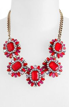 Cara Stone Frontal Necklace on shopstyle.com ($39) #salealert