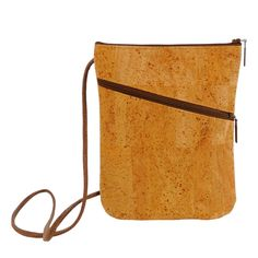 Cork Purse, Tan Crossbody Bag, Zip Top Shoulder Bag, Small Cork Bag, Vegan Purse, Hands Free Travel Purse by Spicer Bags, Made in USA by SpicerBags on Etsy https://www.etsy.com/listing/232741223/cork-purse-tan-crossbody-bag-zip-top