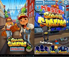 Moscow Update subway surfers
