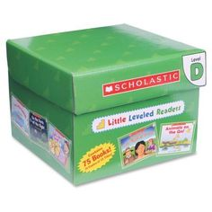 Scholastic Little Leveled Readers Level D Box Set Story Printed Book, Multicolor