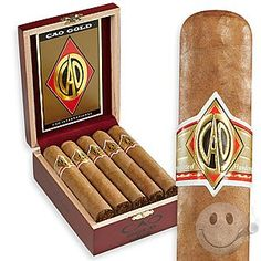 CAO Gold Robusto 10ct Box - Cigars International